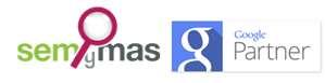 Logo insignia semynas google partner