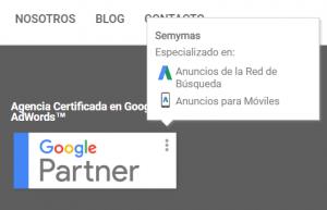 Semymas Google Publicidad Mobile