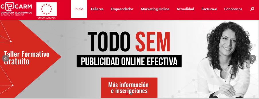"""""""Tour"""" Talleres CECARM 2017 """"Todo SEM: Publicidad Online Efectiva"""""""