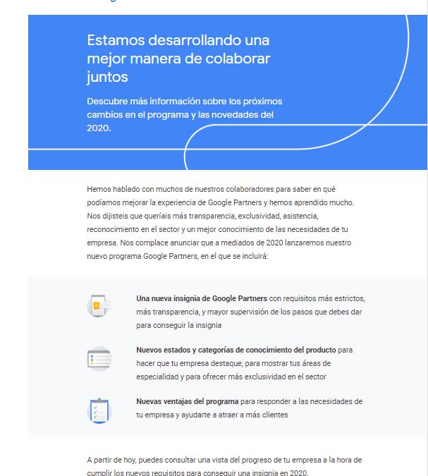 Certificación Google Partner: ¡más difícil todavía!