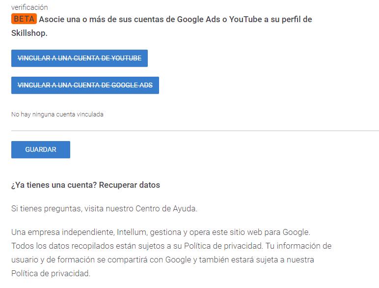 Certificaciones Google Ads Murcia