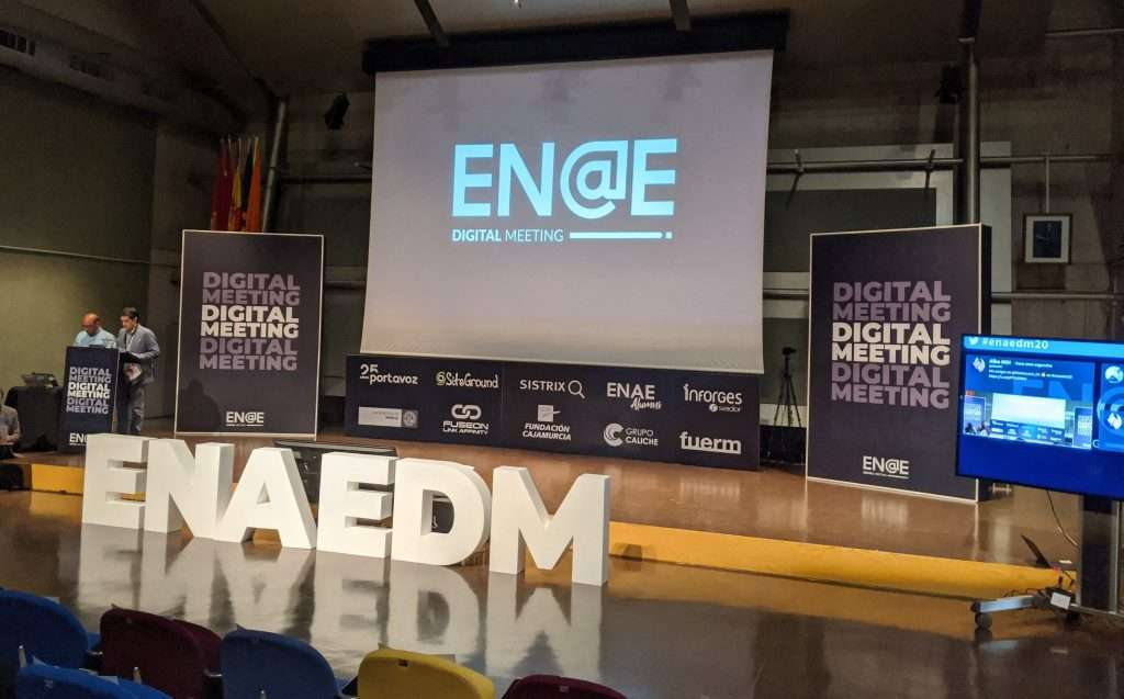 Iniciando la jornada del ENAE Digital Meeting 2020