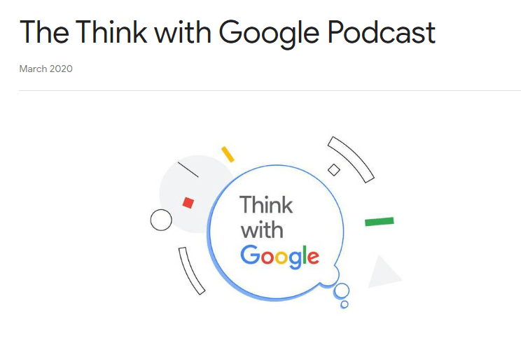 Logo del podcast Think with Google