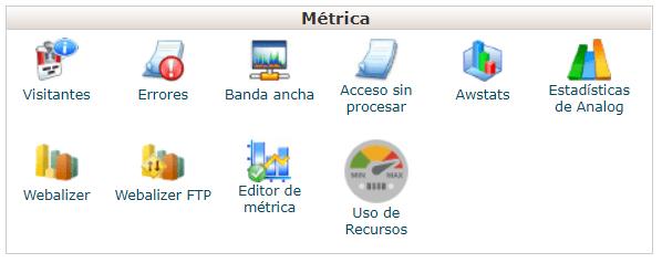 metricas-cpanel
